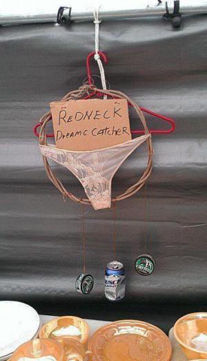 Redneck dream catcher funny facebook quote