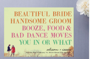 ... be sure to set your date aside for what is sure to be a great wedding
