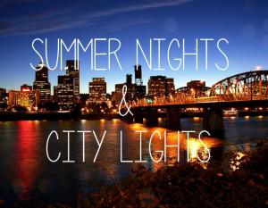Amazing summer nights quotes