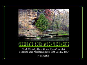 Accomplishments Quotes and Affirmations by Eleesha [www.eleesha.com]