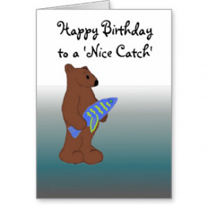 Funny Fish Sayings Cards & More