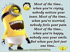 ... you funny quotes quote fart funny quote funny quotes humor minions