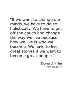 Donald Miller's quote
