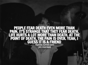 hqlines, hurt, jim morrison, lyrics, music, pain, quotes, sad, sayings