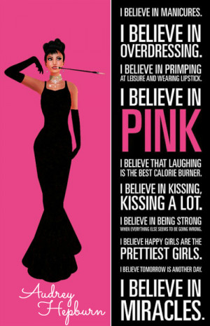 Blog Every Day in May - I believe in pink.