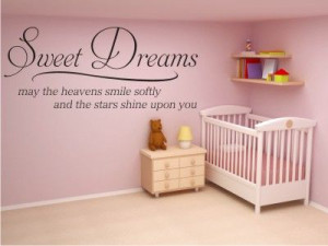 this is a beautiful quote to put above a nursery crib