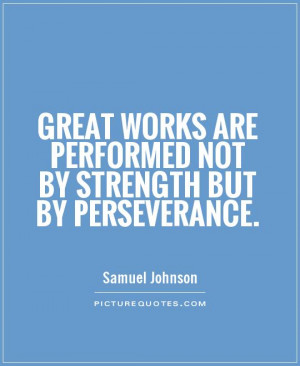 Perseverance Quotes Perseverance picture quote