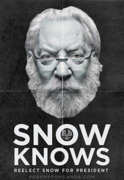 snow parody politics hunger games fan art Mockingjay president snow ...