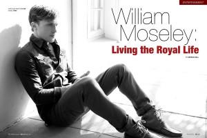 William Moseley 2015