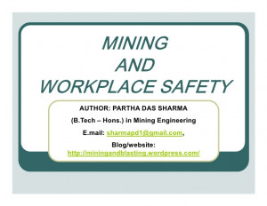 Mining and workplace safety