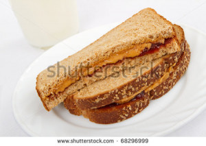 Butter And Jelly Sandwich