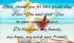 Thank You God Quote Image