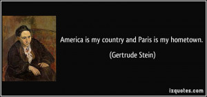 More Gertrude Stein Quotes