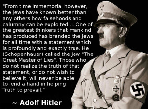 Adolf Hitler Quotes About Jews Adolf Hitler Quotes About Jews