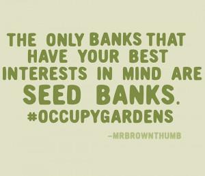Great gardening quote
