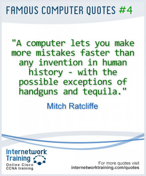 Quotes: Computers and mistakes...