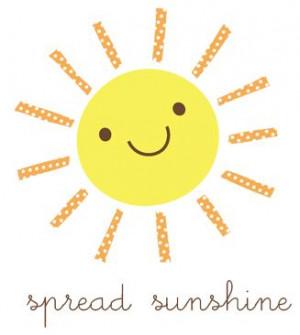 spread sunshine