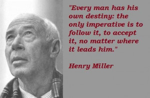 Henry miller famous quotes 3