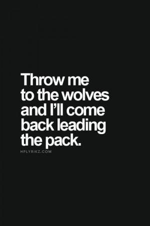 Wolf Quotes