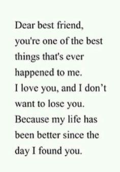 Dear best friend @Lauren Davison Omdahl More