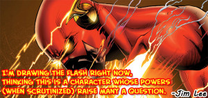 Jim Lee on The Flash