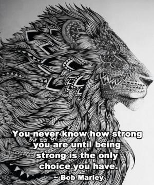 Lion aztec words quote inspirational tattooTattoo Ideas, Inspiration ...
