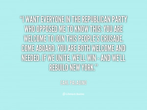 quote Carl Paladino i want everyone in the republican party 96834 png