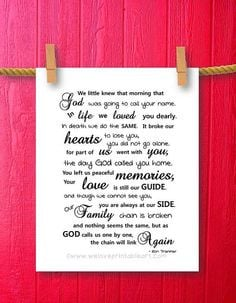 Loving Memory Poems And Quotes
