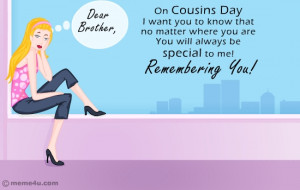 Missing You Card For Cousins Cousin Cards Free