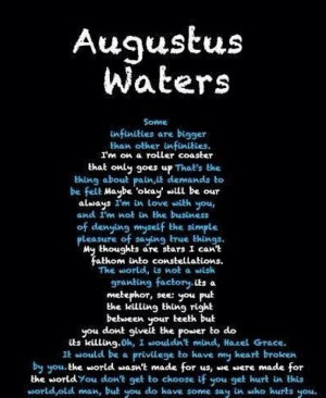 Augustus Waters quotes!