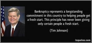 More Tim Johnson Quotes