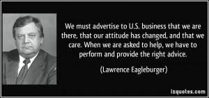 More Lawrence Eagleburger Quotes