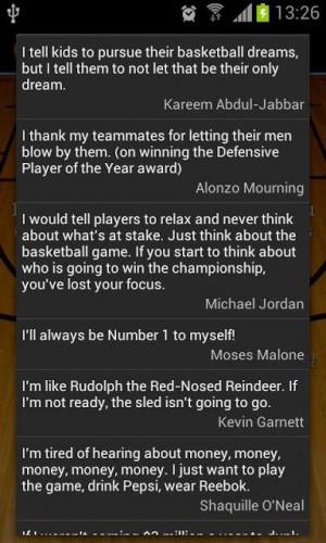 Basketball Quotes Screenshot 4