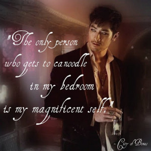 Go Back > Gallery For > Magnus Bane Quotes City Of Bones