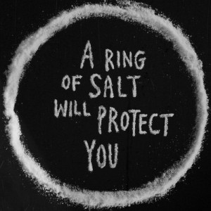 ... , from demons, photography, quote, ring, salt, spn, supernatural, tv