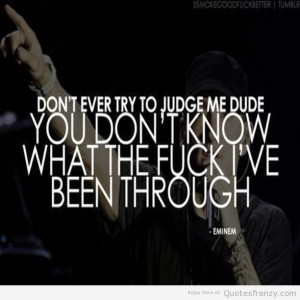 8mile eminem sayings obsession Quotes