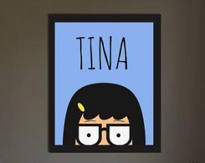 Bob's Burgers / Tina Belcher / Poster ...