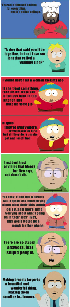 Epic South Park Quotes random