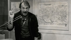 Howard Hesseman as Dr Johnny Fever in the quot WKRP quot studio