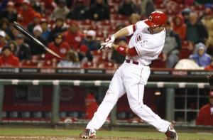 apr 15 2014 cincinnati oh usa cincinnati reds first baseman joey votto ...