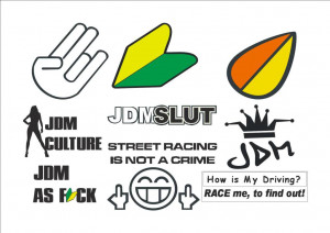 JDM Decals