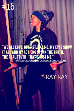 mindless behavior ray ray quotes