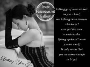 Sad love – letting go quote 4