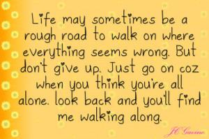 quoteli quote life life's journey moving on jenny gavino