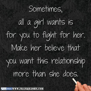 sometimes all a girl wants