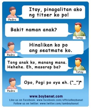 Pinoy Funny Jokes and Tagalog Funny Quotes # 2