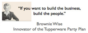 Brownie Wise Quote