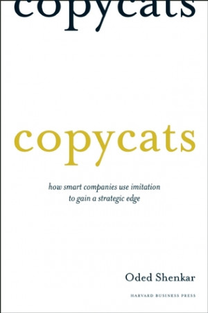 """... Companies Use Imitation to Gain a Strategic Edge"""" as Want to Read"""