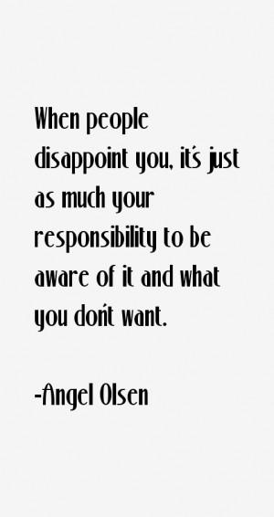 Angel Olsen Quotes amp Sayings
