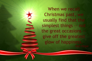... great occasions - that in retrospect give off the greatest glow of